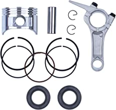Haishine 68mm Piston Rings Connecting Rod Crankshaft Oil Seal Kit for Honda GX160 GX 160 Chinese 168F 5.5HP Engine Motor Trimmer Mower