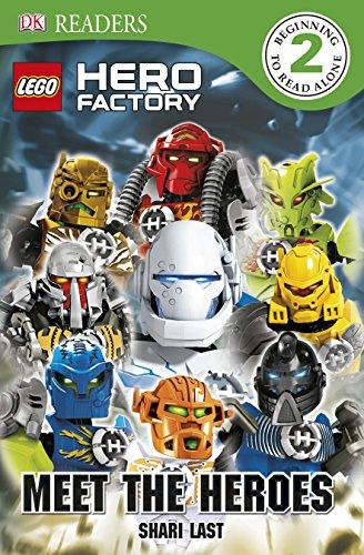 Lego Hero Factory Meet the Heroes (Dk Readers: Level 2)