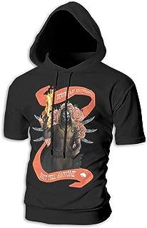 Destiny 2 Forsaken Cayde Short Sleeve Hoodie Pullover Hooded Sweatshirt