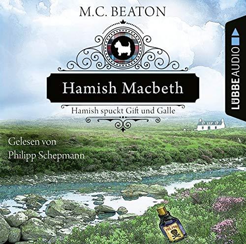 Hamish Macbeth spuckt Gift und Galle cover art