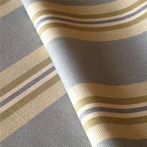 LOOME Harbour 'Marine' : Grey Blue and Green Linen Upholstery Fabric from Fabrics, Sample 10 x 14 cm