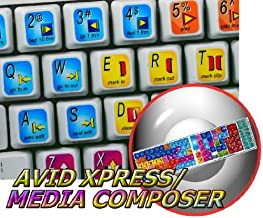 NEW AVID XPRESS/MEDIA COMPOSER KEYBOARD STICKER