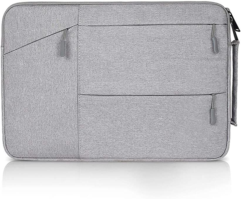 Soyan 13-Inch Laptop Briefcase Compatible with MacBook Air/Pro 13 Inches (Gray)