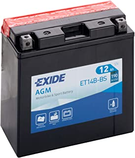 Exide - Motorcycle Battery yt14b-bs 12v - 12ah