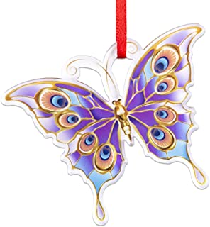 Best WaaHome Butterfly Christmas Ornaments 2020 Keepsake Christmas Tree Ornaments Christmas Tree Decorations Review