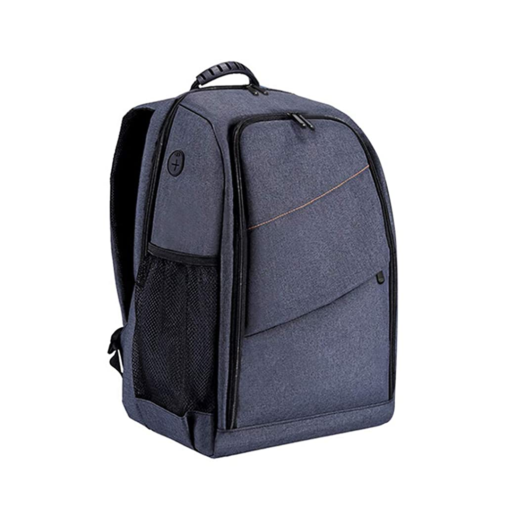Shentesel Waterproof Camera Storage Bag Breathable Carrying Case Backpack for Canon Nikon - Grey