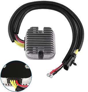 SCITOO Regulator Rectifier 4014029 4015229 Replacement Voltage Regulator Rectifier Fit for 2013 Polaris RZR XP 4 900 2015 Polaris Sportsman 570 2014-2015 Polaris Sportsman ACE