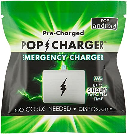 Amazon.com: Pop Charger, Emergency Charger, for Android : Electronics