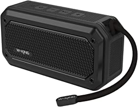 W-KING Bluetooth Speakers, Wireless Portable Speaker Waterproof IPX7 with 12-Hour Playtime& Built-in Mic, Outdoor Loud Speaker with Surround Sound Stereo Speakers