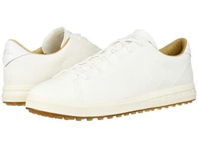 adidas Golf Adipure SP Knit (Footwear White/Cyber Metallic/Gum) Men