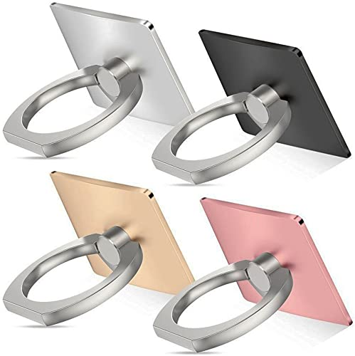 Z-bond Cell phone holder, 4 Pack Universal Smartphone Ring Grip Stand