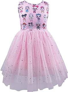Girls Tulle Dress Surprise Dress Sleeveless Princess Party Wedding Sundress