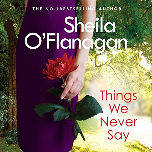 Things We Never Say audiobook cover art