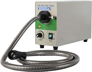 KOPPACE KP-20W Microscopio LED ajustable de fibra óptica fuente de luz fría, temperatura de color 5500 K, 85-265 V, CA 50/60HZ, fuente de luz fría óptica
