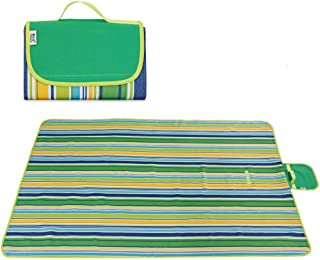 Outdoor & Picnic Blanket Extra Large Sand Proof and Waterproof Portable Beach Mat for Camping Hiking Festivals by Jinara