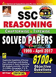 Kiran's SSC Reasoning Chapterwise & Typewise Solved Papers