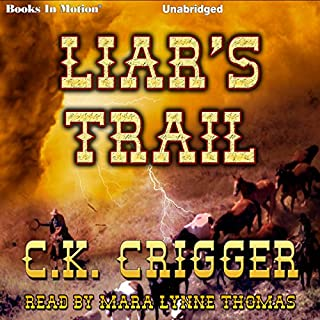 Liar's Trail audiobook cover art