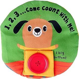 MagiDeal Baby Developmental Cartoon Animal Soft Cloth Book Children Infant Cognitive Educational Toy –Dog