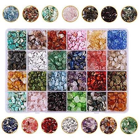 24 Couleurs de M/éga Perles pour Enfants Modelage de Perles DIY WinWonder Recharge de Perles 4800 Pi/èces de Perles DIY Est Compatible avec Le Kit Design pour Enfants avec Perles en Cristal