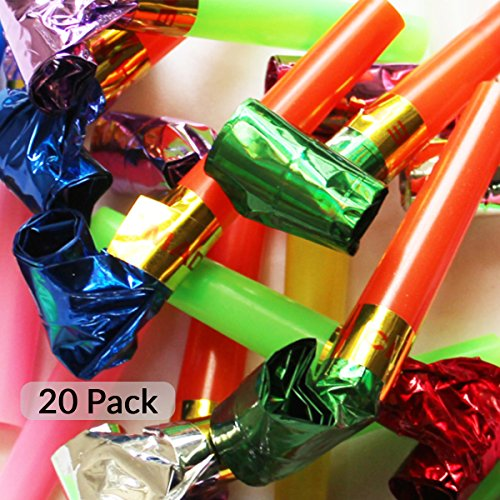 20pcs Christmas Party Blowers - Fun For Every Generation by Sch?ne Memories (UK)