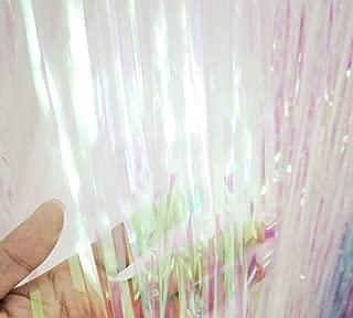 iridescent tinsel curtain