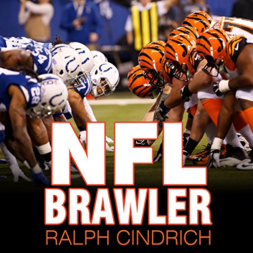NFL Brawler audiobook cover art