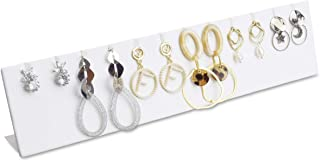 Mooca Premium Leatherette Covered Earring Display Stand Pendant Jewelry Organizer Display Holder for Earring, Pendant Acce...
