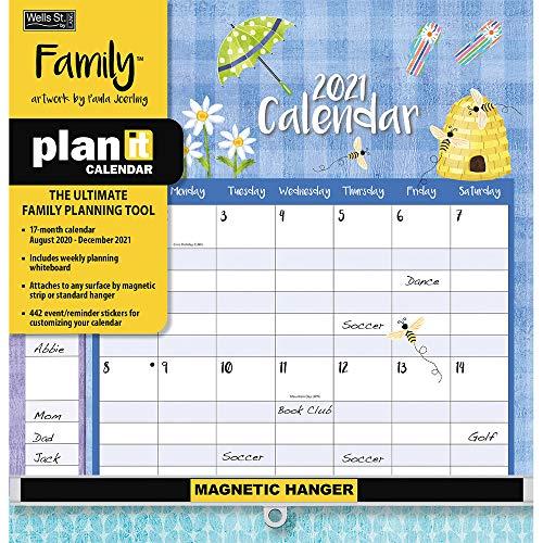 Family 2021 Plan-It Calendar