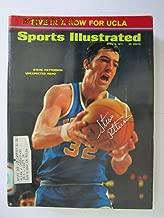 Signed Sports Illustrated 1971 4/5 Steve Patterson UCLA em