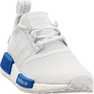 nmd white and blue