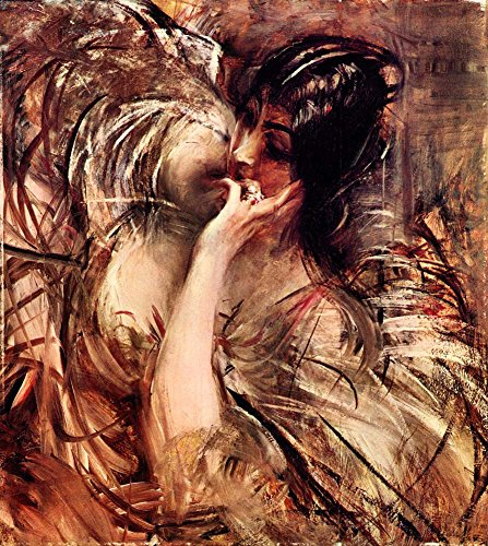 Het Museum Outlet - De blouse van Voile door Giovanni Boldini - A3 Poster