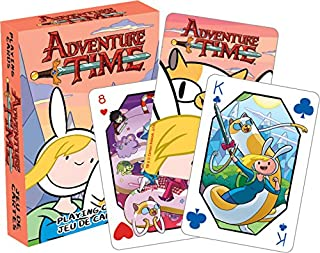 Aquarius Adventure Time Fionnaa and Cake Playing Cards