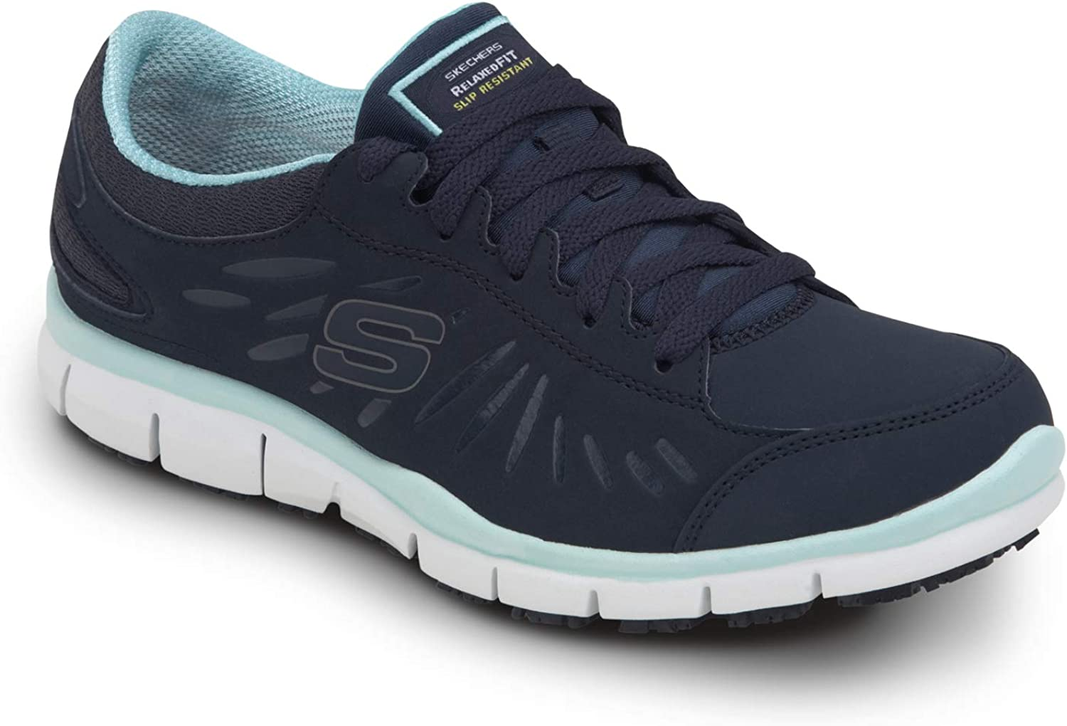 Skechers Work Stacey - Finally popular brand Women's Max 60% OFF Soft Ath Low Slip Toe Resistant
