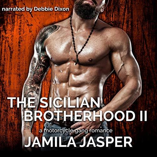The Sicilian Brotherhood II: BWWM Italian Mafia Motorcycle Gang Romance audiobook cover art