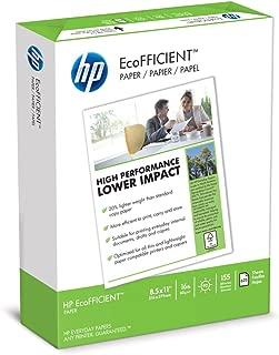 HP Printer Paper, EcoFFICIENT16 Paper, 8.5 x 11 Paper, Letter Size, 16lb Paper, 92 Bright, 1 Ream / 625 Sheets (216000) Acid Free Paper