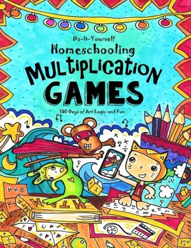 Multiplication Games 180 Days Of Math Art Logic Fun Do It Yourself Homeschooling