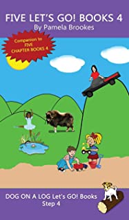 Five Let's GO! Books 4: (Step 4) Sound Out Books (systematic decodable) Help Developing Readers, including Those with Dysl...