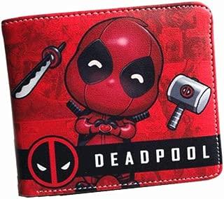 GW268775DED rouge//noir MARVEL COMICS Deadpool Face Porte-monnaie