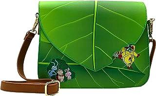 Loungefly Women's Pixar A Bug's Life Leaf Crossbody Purse