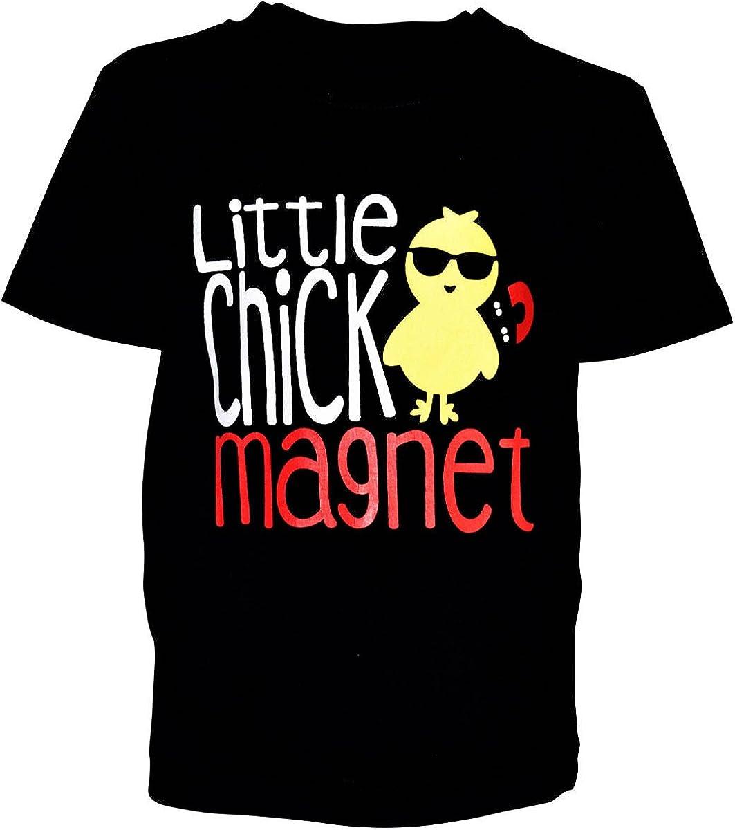 Unique Baby Boys Little Chick Magnet Easter Shirt