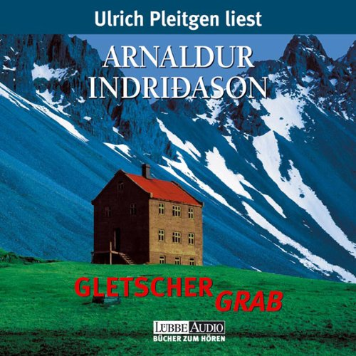 Gletschergrab audiobook cover art