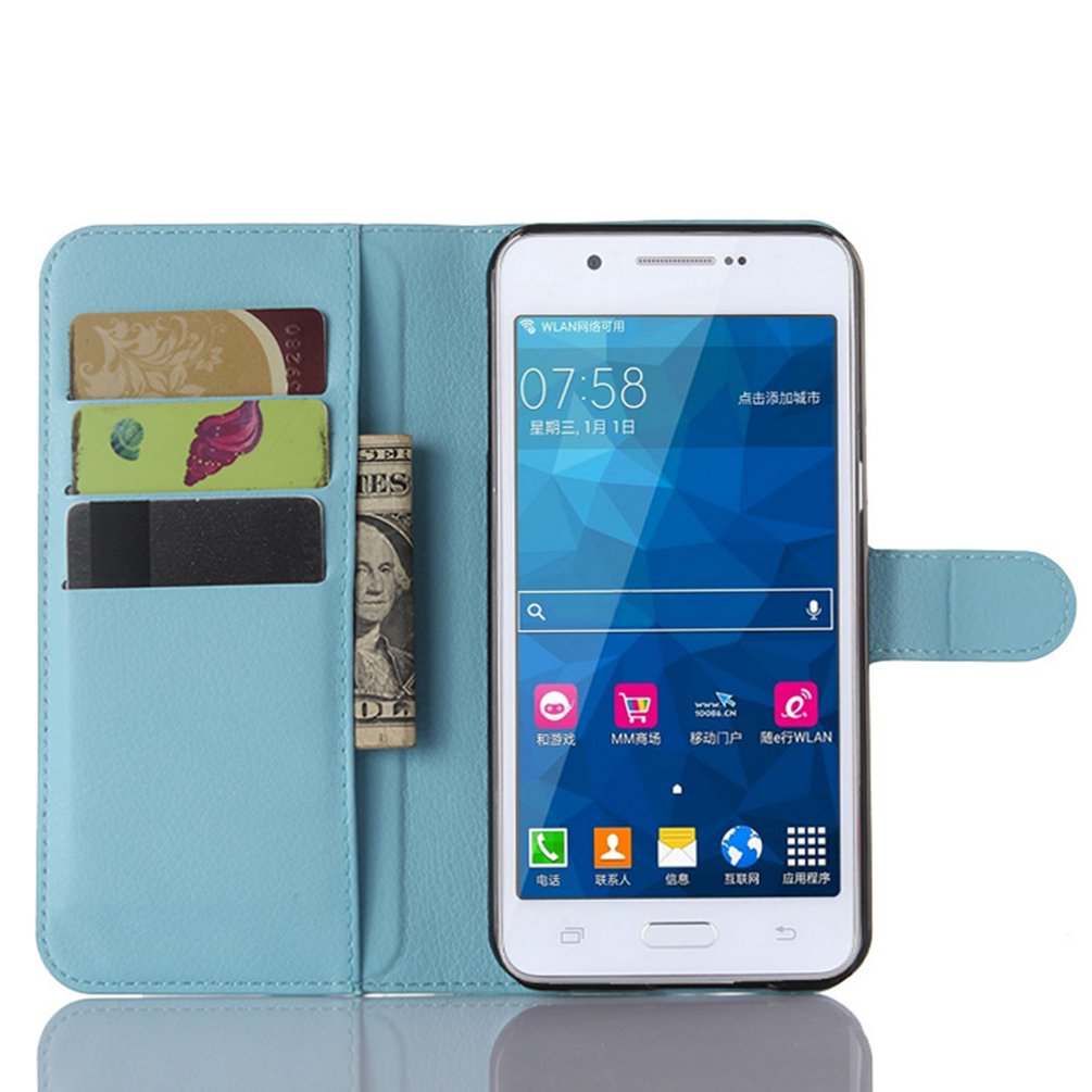 Manyip Samsung Galaxy A8 Hülle Pu Flip Leder Tasche Elektronik