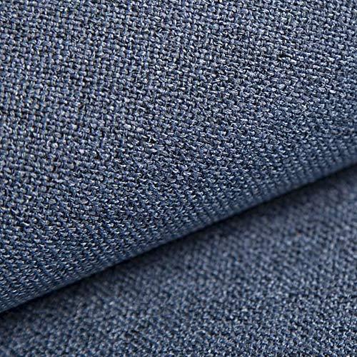NOVELY® AUEN Premium Möbelstoff   Webstoff   fein gewebter Polsterstoff   Meterware   Bezugsstoff   1 lfm   23 Farben (13 Blau)