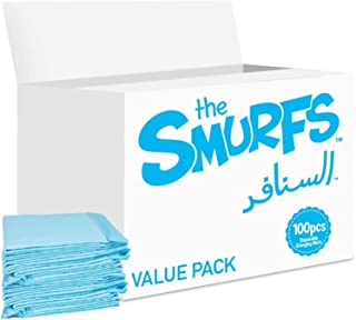 Smurfs Disposable Changing Mats, 100 Counts