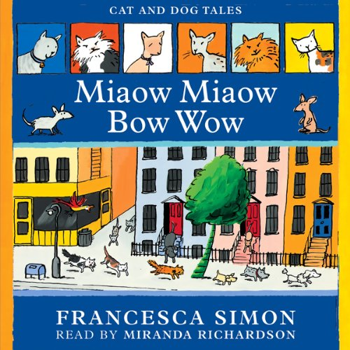Miaow Miaow Bow Wow audiobook cover art
