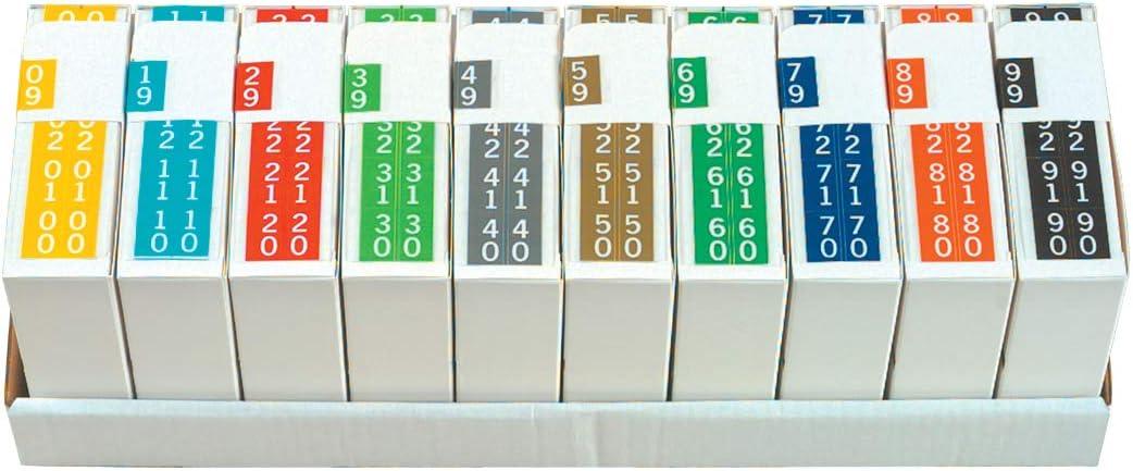 Bargain Max 44% OFF Doctor Stuff - File Folder Filing Consec Digit Labels Terminal