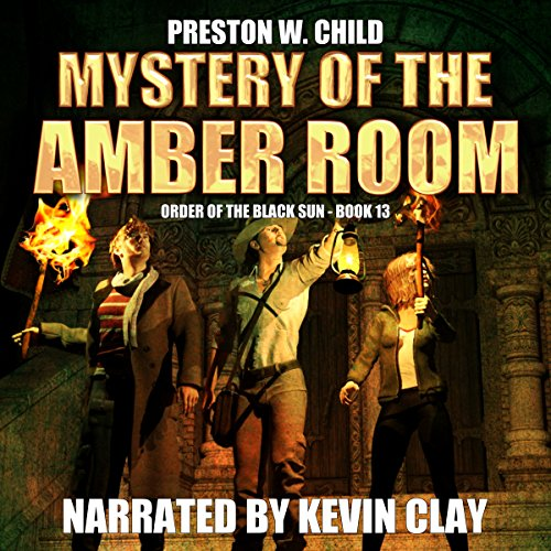 Mystery of the Amber Room audiobook cover art
