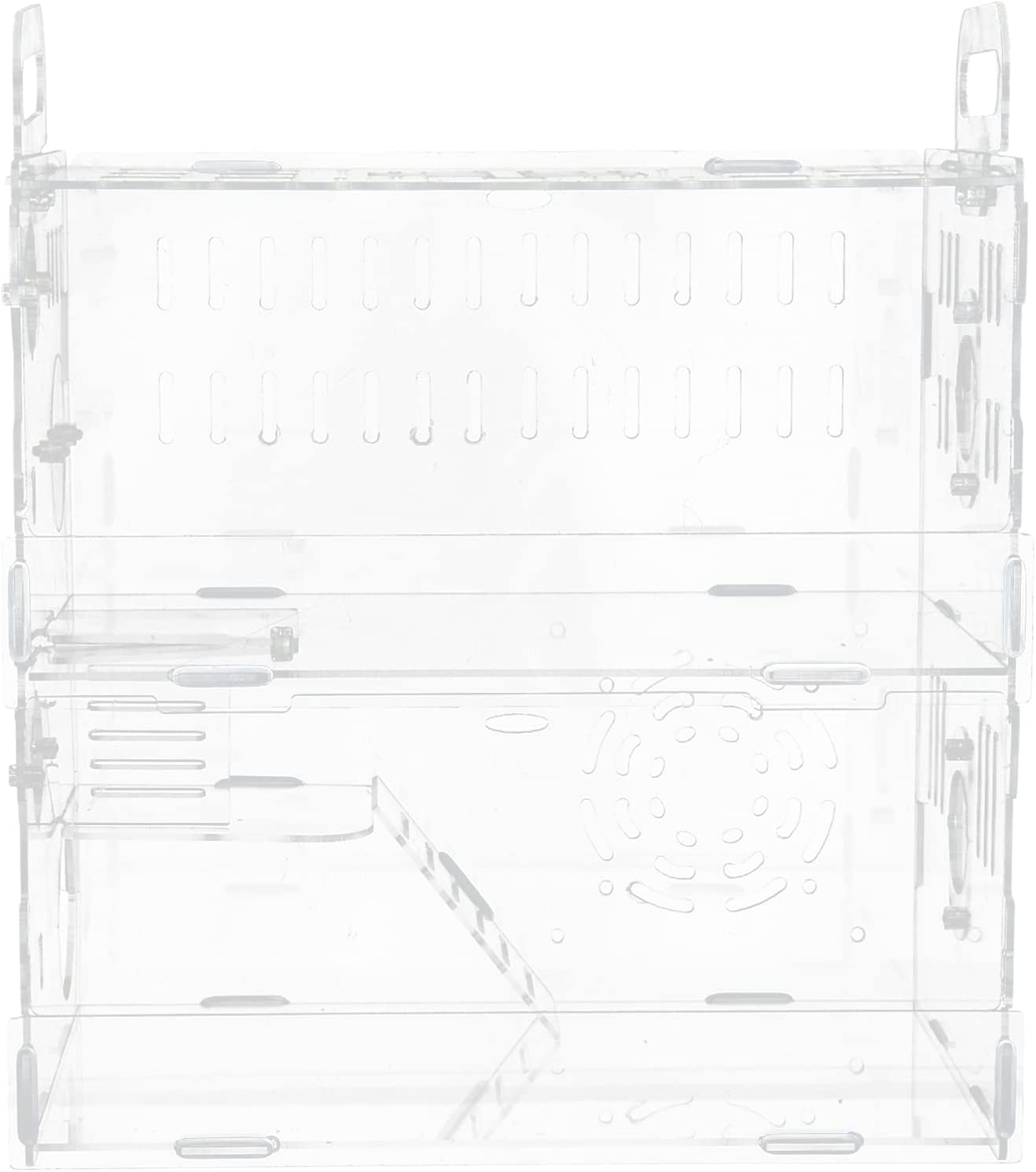 balacoo Acrylic Today's only Clear Spring new work Hamster Cage Pup Small Pets Habitat Castle