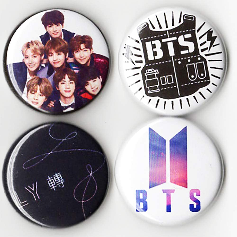 BTS Button Pack   Set of 20 20 inch Size Pin Back   K Pop