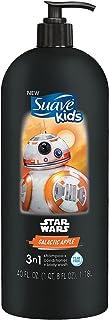 Suave Kids Shampoo & Body Wash - 40 fl. oz. (Galactic Apple, Star Wars 3-n-1 Shampoo, Conditioner & Body Wash)